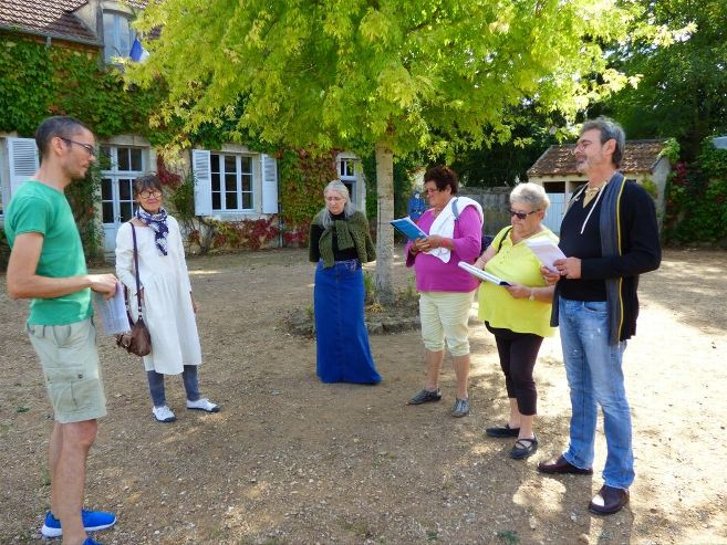 Les bénévoles d'Epineuil-le-Fleuriel