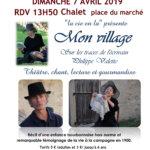 Balade théâtralisée «Mon Village»